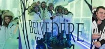 WINTER VODKA LAND AT BEARFOOT BISTRO'S NEW BELVEDERE ICE ROOM