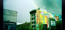 Seen In Vancouver #288: Double Rainbow Heralding Canuck Victory On The DTES