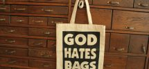 "Cool Thing We Want #281: ""God Hates Bags"" Shopper At Gastown's Nelson The Seagull"