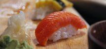 Awesome Thing We Ate #836: Kickass Wild Sockeye Salmon Nigiri At Sea Monstr Sushi