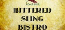"""GOODS: Kale & Nori Launching """"Bittered Sling Bistro"""" Cocktail Competition Series"""
