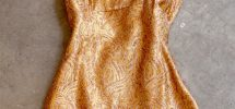 Cool Thing We Want #323: Gold 1960's Mini Dress From The Frock Shoppe In Gastown…