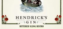 "GOODS: Kale & Nori's ""Bittered Sling Bistro"" Pairs With Hendrick's For A Peculiar Affair"