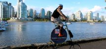 "SEEN IN VANCOUVER #370: Those Crazily Creative ""Art Bikes"" Cruising Around Town"