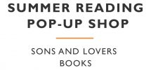"HEADS UP: Sons & Lovers ""Summer Reading Pop-Up Shop"" At Revolver Coffee On May 20"