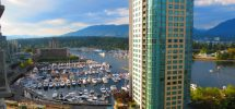 The View From Your Window #142: Looking West Over Stanley Park From Coal Harbour