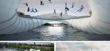 VANCOUVER WOULD BE COOLER IF #191: False Creek Had A Giant Trampoline Bridge