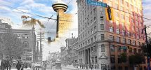 SEEN IN VANCOUVER #407: Intersection Of Hastings & Cambie Streets, Then And Now