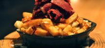 "AWESOME THING WE ATE #880: Beef Brisket Poutine At ""The Oakwood"" In Kits"