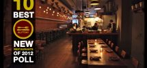 DINER: Let's You & Me Pick The Best New Restaurants To Open In Vancouver in 2012