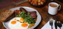 "GOODS: The Meaty Weekend Brunch Menu At Hastings' ""Wildebeest"" Gets An Update"