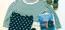 OUTFIT OF THE DAY: Taking French Notes While Wearing Stripes & Polka Dots Edition