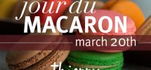 "GOODS: Alberni's Celebrated ""Thierry"" Marking March 20th As ""Jour De Macaron"""