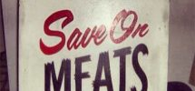 SEEN IN VANCOUVER #436: Save On Meats Replacing Stolen Sign With Food Campaign