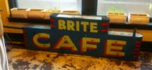 VANCOUVER DETAIL #283: Who Knows The Origins Of The Mysterious 'Brite Cafe' Sign?