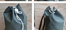 COOL THING WE WANT #385: Gorgeous Rains Drawstring Bag At Nouvelle Nouvelle