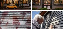 """GOODS: East Van Ghost Sign On The Side Of """"Via Tevere"""" Restored By Local Artists"""