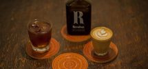 "GOODS: ""Revolver Coffee"" Partners With Leather Maker Ken Diamond On Coasters"