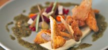 AWESOME THING WE ATE #904: Burdock & Co's Fried Chicken With Pickled Vegetables
