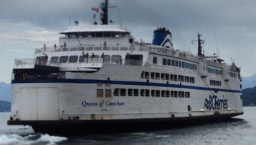 "1,000 COOL THINGS ABOUT VANCOUVER | The Aging ""Queens"" Of The BC Ferries Fleet"