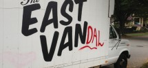 "SEEN IN VANCOUVER #460 | ""The East Van"" Gets Inevitable Vandalism Treatment"