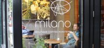 GOODS | Milano Coffee Now Grinding Jingle Bell Blend And Pulling Holiday Truffle Shots