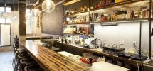"""GOODS   Gastown's Diminutive """"Notturno"""" Tables New Menu & Cocktail Card For May"""