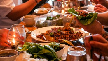 "STAFF MEAL | Digging Into A Family-Style Spread At Kitsilano's Celebrated ""Maenam"""