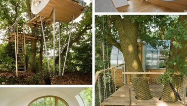 COOL THING WE WANT #438 | An Escapist Retreat High Up In A Gnarled Brace Of Oaks