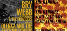 GOODS | Bry Webb & Ramones Pizza Party Double Bill At 'The Biltmore' On August 14th