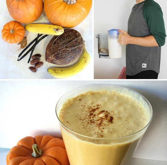 "DINER | Ryan & Zach Of ""The Juice Truck"" Break Down A Sweet Pumpkin Pie Smoothie"