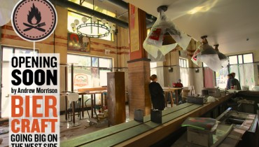 "DINER | ""Biercraft"" Close To Finishing Build Of Its New 200+ Seat Watering Hole At UBC"