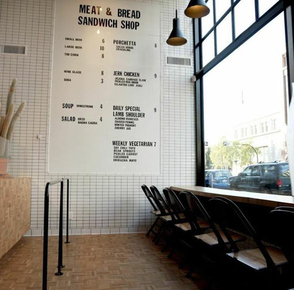"DINER | Downtown Victoria Welcomes New Location Of ""Meat & Bread"" At 721 Yates St."
