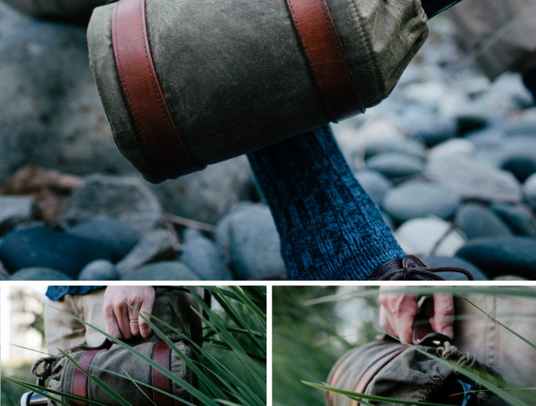 COOL THING WE WANT #451 | A Beautiful Waxed Canvas 'Woodsman' Growler Carrier