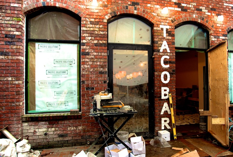 DINER | Gastown Location Of Tacofino Nears Opening Day – We Take A Sneak Peek Inside