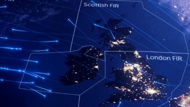 FOREIGN INTELLIGENCE BRIEF #443 | UK's Daily Air Traffic Of 6,000+ Flights, Visualized