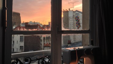 THE VIEW FROM YOUR WINDOW #158   Early Sunset From The Boulevard Garibaldi In Paris