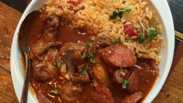 AWESOME THING WE ATE #943 | The Intense Arroz con Pollo at The Sardine Can in Gastown