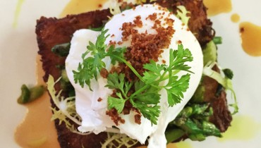AWESOME THING WE ATE #941 | The Greasy Spoon's Pastrami-Cured Duck Confit Hash