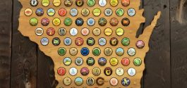 COOL THING WE WANT #461 | Wooden Beer Bottlecap Map Of Beautiful British Columbia