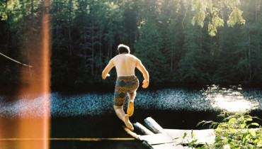 SEEN IN VANCOUVER #559   Jumping Into A Secret Lake In The Wilderness Near Squamish