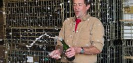 MESSAGE IN A BOTTLE | On Savouring The Sabering Of Blue Mountain's Gold Label Brut