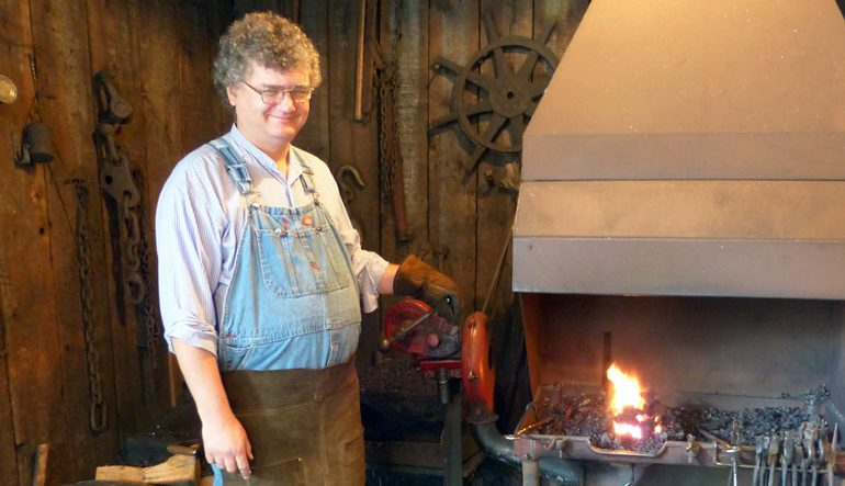 TRADECRAFT | On Getting Hammered The Old School Way With Local Blacksmith Lorne Gray