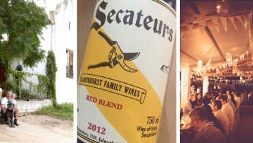 "AWESOME THING WE DRANK #697 | 2012 ""Secateurs"" Red Blend From A.A. Badenhorst"
