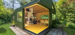 SPACED | A Simple, Beautiful, No Frills Cabin Tucked Away In A Forest In The Netherlands
