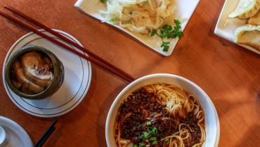 NEVER HEARD OF IT | Longing For Dumplings, Wine Chicken & Tan Tan Noodles On Main St.