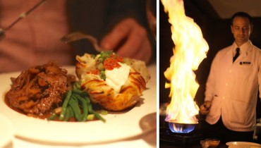 AWESOME THING WE ATE #964 | Tableside Brandy-Flambéed Steak Diane At Hy's Encore