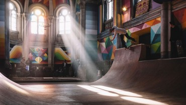VANCOUVER WOULD BE COOLER IF #260 | It Had A Skatepark Tucked Inside A Dry Church