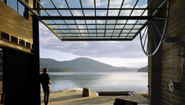 SPACED | Olson Kundig's Cabin In Northern Idaho Would Sit Pretty On A Gulf Island Shore