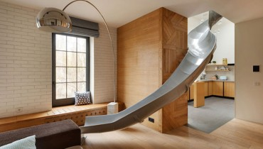 COOL THING WE WANT #480 | A Domestic Slide That Twists From Second Floor To Main